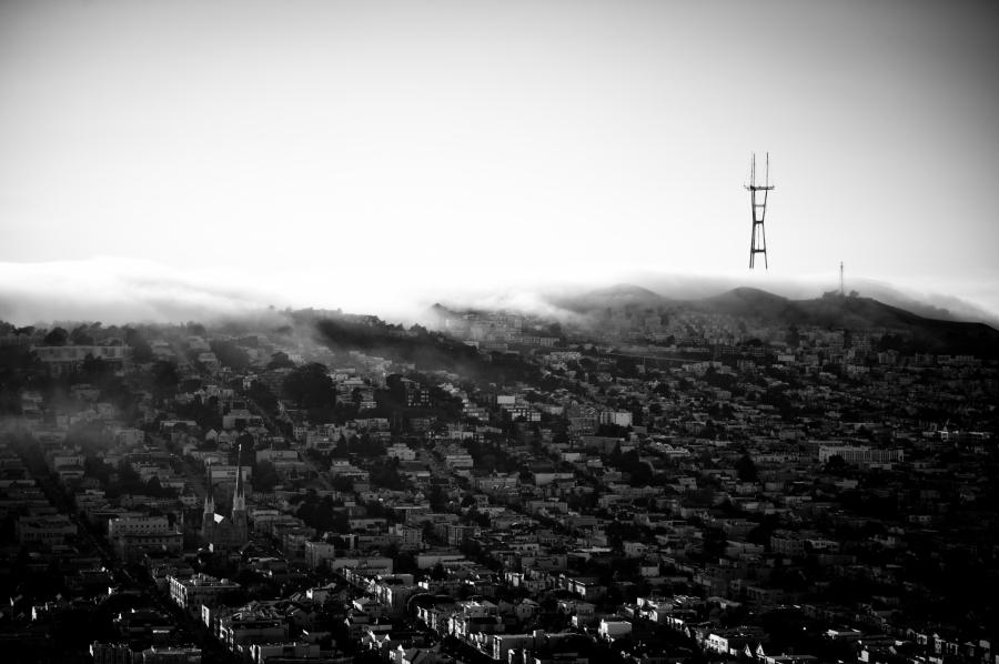 Summer-Bernal Heights, San Francisco CA.